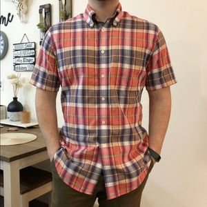 Brooks Brothers Regent Short Sleeve Button Down